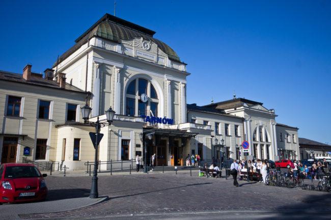 Dworzec kolejowy w Tarnowie