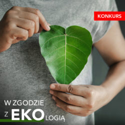W zgodzie z ekologią - baner promocyjny konkursu